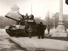 tanks Romanian revolution revolutia romana 1989