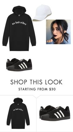 """Untitled #2482"" by vireheart ❤ liked on Polyvore featuring adidas and Sole Society"