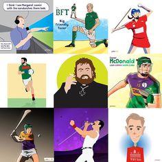Best Nine from instagram this year #bestnine2018 Best Nine, Ireland, Baseball Cards, Illustration, Poster, Instagram, Illustrations, Irish, Movie Posters