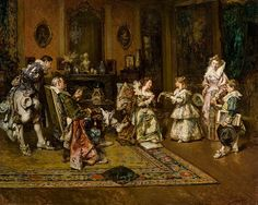 Aristocratic family von Maximo Juderias Caballero