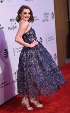 'Fun, young and quirky': how Maisie Williams, 18, stays age appropriate on the red carpet