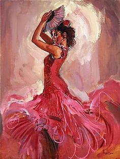 Mark Spain - Flamenco Passion IV - Схемы вышивки - Zheni - Авторы - Портал «Вышивка крестом»
