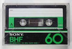 60 minutes of voice, music and anything else you could think to record.  #80s