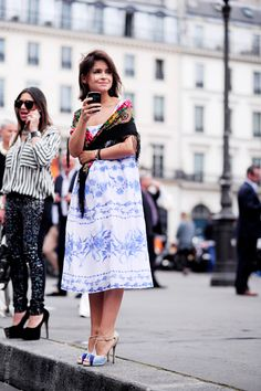 Paris – Miroslava Duma. Photo © Wayne Tippetts
