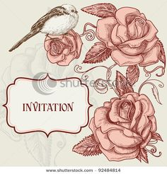 Roses and lovely bird romantic background      Keywords:  background, beauty, birthday, branch, card, celebration, corner, cover, day, decor, decoration, design, draw, element, etching, floral, flores, flourish, flower, garden, gift, graphic, greets, invitation, label, layout, leaf, love, lovely, marriage, natural, ornament, ornate, panel, pink, plant, plate, poster, retro, romantic, rose, shape, spring, texture, valentine, valentine day, vector, vintage, wed, wedding