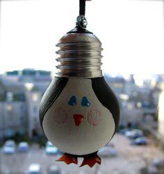 light bulb penguin.