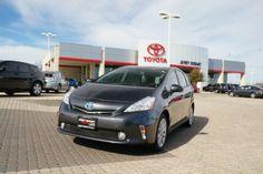 2014 Toyota Prius v Two Wagon #Toyota #Prius #Wagon #Hybrid 45mpg