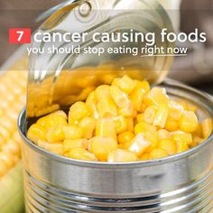 Here is a list of foods that you should stop eating immediately. They have been found to contribute to cancer, and otherwise wreak havoc on your health. We've provided alternatives so that you can still eat these foods, but in a healthy way. 1. Microwave Popcorn If you enjoy finishing off a day by curling …