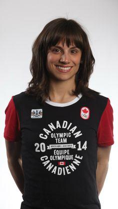 Canada: ice skater Meagan Duhamel, Sochi Winter Olympic Games 2014
