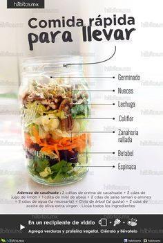 Comida rápida para llevar is part of Healty food - Healthy Choices, Healthy Life, Healthy Snacks, Healthy Eating, Comidas Fitness, Snacking, Snacks Saludables, Going Vegan, Cheddar