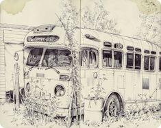 sketchbook by Pat Perry