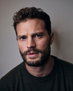 """""""You guys think he's magnificent too? ✨😍 NEW: Portraits of Jamie by gareth cattermole Celebrity Photos, Celebrity News, Christain Grey, Fifty Shades Of Grey, Dakota Johnson, Attractive Men, Haircuts For Men, Celebrity Weddings, Beautiful Men"""