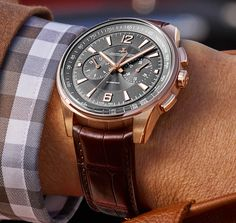 Jaeger LeCoultre Polaris chronometer in pink gold