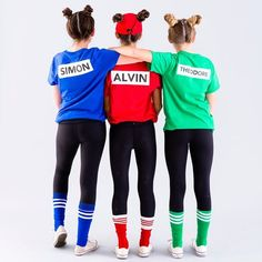 Save this last-minute DIY Halloween group costume tutorial to make a Chipmunks squad. Super Hero shirts, Gadgets & Accessories, Leggings, 50%OFF. #marvel #gym #fitness #superhero #cosplay lovers