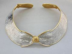 1980s Valentino Bow Necklace