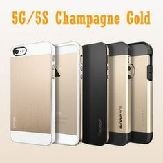 Sgp Spigen Case For iPhone 5 5S 5G Cover Champagne Gold Saturn Bumblebee Neo Hybrid EX Slim Tough Armor