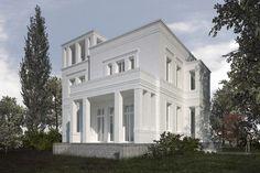 Klassische Neubauvillen in Potsdam-Jungfernsee - VOGEL CG ARCHITEKTEN BERLIN
