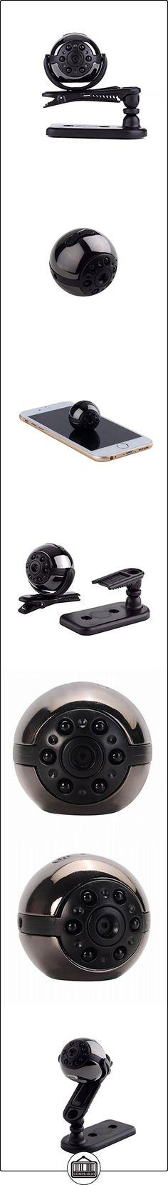 Mengshen® 1080P visión nocturna por infrarrojos Mini DV rotación de 360 ??grados vídeo espía cámara oculta grabadora de voz del coche DVR de la detección del movimiento de la videocámara MS-SQ9 ✿ Vigilabebés - Seguridad ✿ ▬► Ver oferta: http://comprar.io/goto/B01M2VGQ75