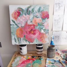 Flower Paintings, Custom Paint, Most Beautiful, It Is Finished, Floral, Flowers, Instagram, Art, Paintings Of Flowers
