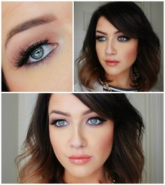 """IT Cosmetics """"Naturally Pretty"""" Palette, Too Faced """"Melted Nude"""" Lipstick, and House of Lashes """"Heart breaker"""" lashes."""