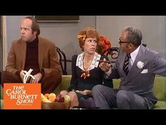 A woman (Carol Burnett) is introducing her boyfriend (Tim Conway) to her dad (Harvey Korman) for the first time, but when her boyfriend arrives something isn't quite right from The Carol Burnett Show (full sketch) Comedy Clips, Comedy Tv, Lyle Waggoner, Harvey Korman, Physical Comedy, Classic Comedies, Carol Burnett, Old Folks, Belly Laughs