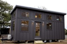 The Black Pearl, a modern 263 sq ft house by Nomad Tiny Homes of Austin, Texas.