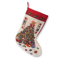 Christmas Stocking 'Merry Christmas'   bestellen - THE BRITISH SHOP english…