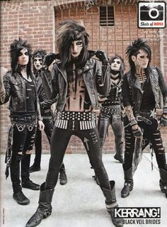 Black Veil Brides <3, playing Perfect Weapon,it seems like it only came out a week ago...It's been 3 years... <3 <3 <3