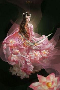 Yêu Anime♥'s media analytics. 3d Fantasy, Fantasy Images, Fantasy Women, Fantasy Girl, Fantasy Artwork, Beautiful Fantasy Art, Beautiful Fairies, Manga Art, Anime Art