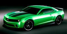 2011 Green Camaro