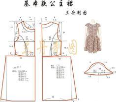Modelado de vestidos elegantes