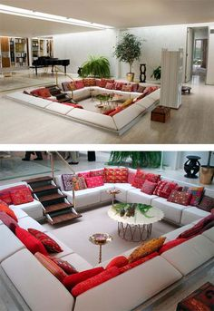 This is the living room space I would want