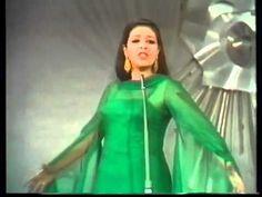 ▶ Eurovision 1969 Portugal: Simone de Oliveira - Desfolhada