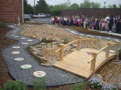 Rosary Garden Dedicated at St. Ann School