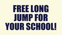 http://www.sportsandsafetysurfaces.co.uk/blog/long-triple-jump-run-up-landing-pits/long-jump-athletics-pit-free-facility-funding/ Please visit the link above for more details on how your School can get a completely FREE long jump with Soft Surfaces Ltd.