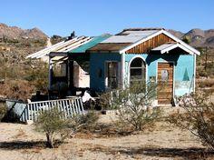 Cabin Porn : The Jackrabbit Homesteads ofWonder Valley, CA
