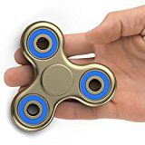 The Anti-Anxiety 360 Spinner Helps Focusing Fidget Toy Figit] Tri-Spinner EDC Focus Toy for Kids & Adults - Best Stress Reducer Relieves ADHD Anxiety Boredom Ceramic Cube Bearing Gold & Blue Figit Spinner, Edc Fidget Spinner, Cool Fidget Spinners, Fidget Cube, Fidget Toys, Finger Fidget, Buy Toys, Toys Shop, Toys Online