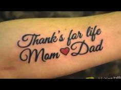 Best 100+ Mom Dad Tattoo ideas for Wrists Men and Women - Fashion Wing - YouTube