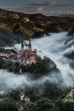 Above the Fog, Asturias, Spain:
