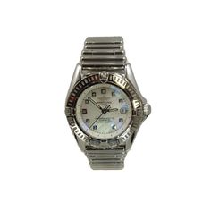 Beckers Jewelry Corp - Breitling Chronometre, Mother of Pearl Dial