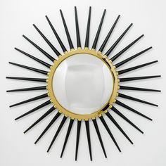 Modern Home Decor | Ventana Mirror | Jonathan Adler