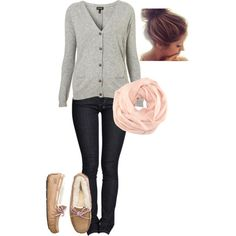 """School Outfit"" by elizabethrosemond on Polyvore. I feel this is a necessary outfit for college in the fall. and so cute too."