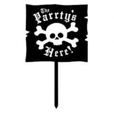 Ahoy Matey! You be searchin' the seas for pirate party decorations? I've searched far and wide and put together a collection of pirate party decorations...