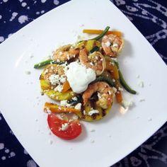Fajita Shrimp & Polenta « Go Bold with Butter