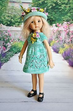 OOAK-OUTFIT-FOR-DOLLS-Little-Darlings-Effner-13. From Russia. Start bid was $70.00. SOLD for $95.00 on 2/28/15