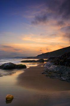 Freathy Beach Whitsand Bay Cornwall UK