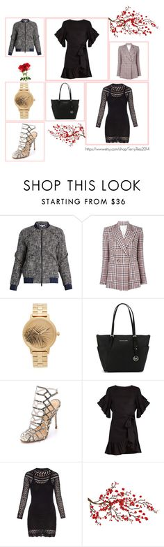 """""""Wonderful"""" by cate-jennifer ❤ liked on Polyvore featuring Diane Von Furstenberg, Étoile Isabel Marant, Nixon, MICHAEL Michael Kors, Schutz, Isabel Marant and Brewster Home Fashions"""