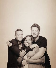 Cory Monteith and cast members