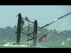 Coupe de l'America: Russell Coutts sur l'AC45 Oracle Racing chavire à San Francisco