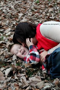 Mother son photo love. Tickle fights. Autumn leaves. Chelsea Doy Photography. Mother Son Pictures, Mother Son Love, Pic Pose, Picture Poses, Mother's Day Photos, Family Photos, Different Poses For Photos, Photography Business, Life Photography